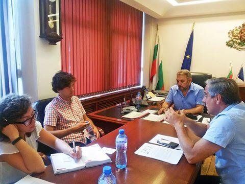 Среща със зам.-министър Цветан Димитров в МЗХ