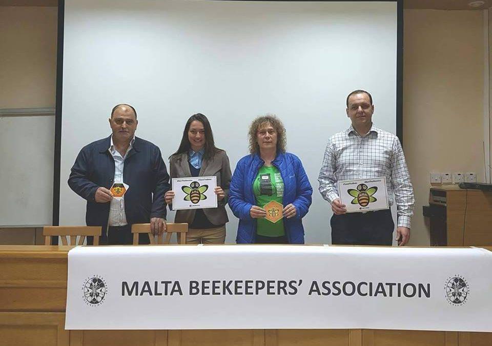 Ползотворни срещи в Малта на ФОСЗ с местни НПО организации, пчелари, учени, политици и министри